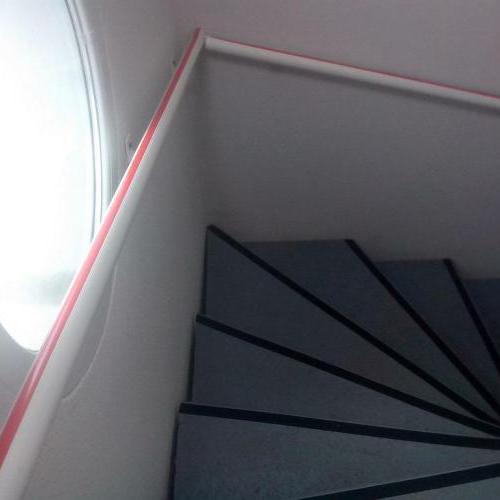 Travaux dans cage d'escalier